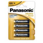 4 x Bateria alkaliczna Panasonic Power LR6/AA (blister)
