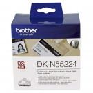 etykiety papierowe Brother [DKN55224] oryginalne