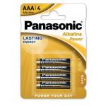 4 x Bateria alkaliczna Panasonic Power LR03/AAA (blister)