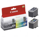 wkład atramentowy canon [pg40/cl41] 2 pack black + color oryginalny